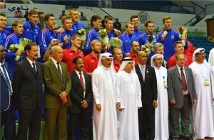 V Dohi so se naslova veselili igralci iz Rusije