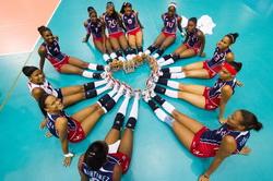 Reprezentantke Dominikanske republike so naslednji nasprotinik naših deklet (foto fivb.org)