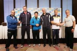 Trenerji vseh sodelujočih reprezentanc  vir: www.fivb.org