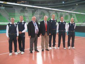 Sodniški zbor FIVB pred prvo tekmo svetovne lige v Sloveniji