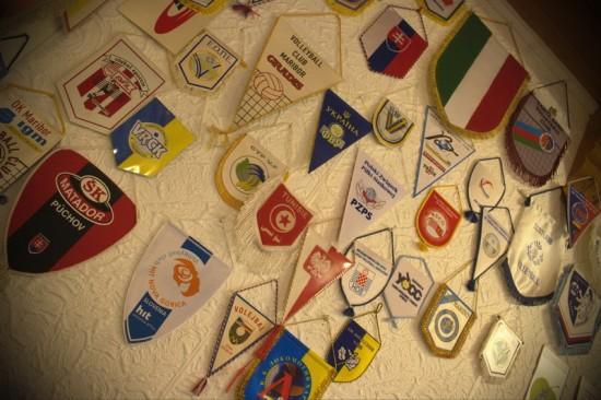 Zastavice odbojkarskih klubov iz cele Evrope in okolice - 1