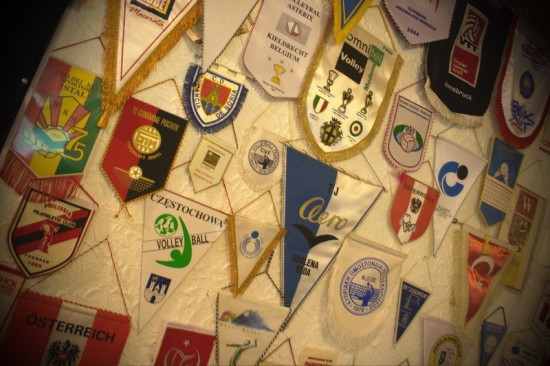 Zastavice odbojkarskih klubov iz cele Evrope in okolice - 2