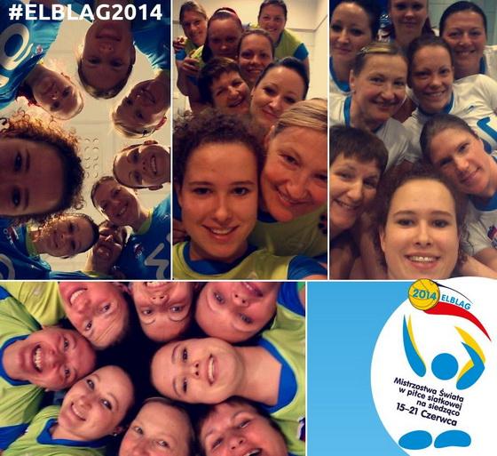 Ženska odbojkarska reprezentanca v sedeči odbojki je bila na uradni facebook strani Svetovnega prvenstva ELBLAG 2014 izbrana za ekipo z najboljšimi selfieji