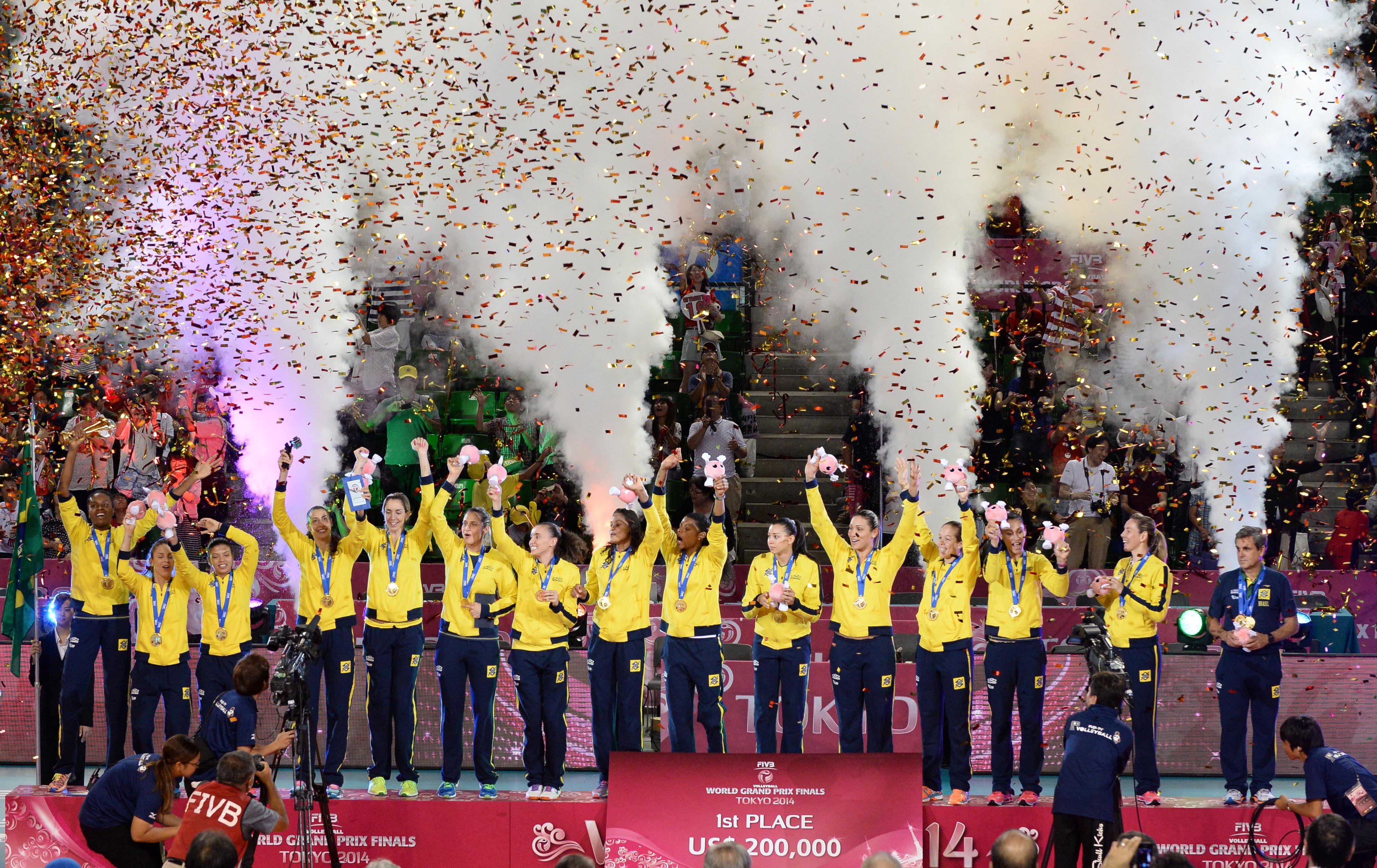 Brazilke so branilke naslova iz leta 2014