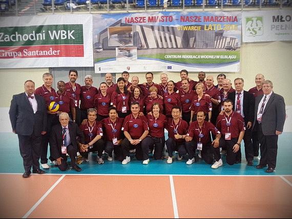 Sodniki in delegati prvenstva (foto: Facebook Tomek Balabanski)