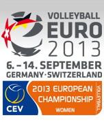 Evropsko prvenstvo za ženske 2013