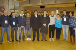 Končnik je bil sodniški delegat na zaključnem turnirju prvenstva deklet do 19. let na Škotskem