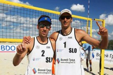 Nejc Zemljak in Jan Pokeršnik, 5. mesto (Anapa OPEN FIVB 2013)