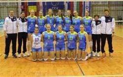 Slovenska ženska kadetska reprezentanca (foto fivb.org)